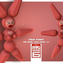 concept Fight Robot (BIG HERO 6)